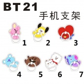 Картинка товара K-POP BTS 7 Choose Bangtan Boys BT21 кольцо Phone Holder (239321) превью