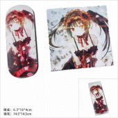 Картинка товара Date A Live Tokisaki Kurumi Glasses Case and Glasses Cloth Set-958489091 превью