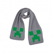 Картинка товара Minecraft Creeper Gray шарф (252437) превью