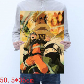 Картинка товара Naruto Placard Home Retro Kraft постер аниме принт-958503182 превью