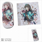 Картинка товара LoveLive Kotori Minami Glasses Case and Glasses Cloth Set-958489072 превью