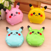 Картинка товара Pokemon Pikachu Anime Contact Lens Box Mixed Color Random-958485711 превью