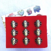 Картинка товара The Avengers Iron Man Party Accessories Usally Size Box-packed Hollow Rin (набор) Of 9 (191725) превью