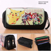 Картинка товара Pokemon PU Nylon Zipper Pencil Case Anime пенал-958485448 превью