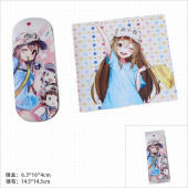 Картинка товара Cells at Work Glasses Case and Glasses Cloth Set-958489079 превью