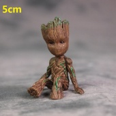 Картинка товара Guardians of the Galaxy Groot Model Toy Statue PVC Action Mini Figures 5см (246581) превью