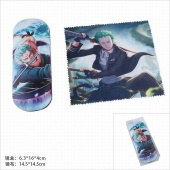 Картинка товара One Piece Zoro Glasses Case and Glasses Cloth Set-958489081 превью