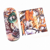 Картинка товара Attack on Titan Glasses Case and Glasses Cloth Set-958489461 превью