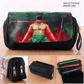 Картинка товара One Piece Zoro PU Nylon Zipper Pencil Case Anime пенал-958501555 превью