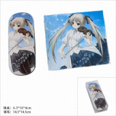 Картинка товара Yosuga no Sora Kasugano Sora Glasses Case and Glasses Cloth Set-958489090 превью