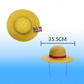 Картинка товара One Piece Monkey D Luffy Straw Hat кепка (34 5см) (127841) превью
